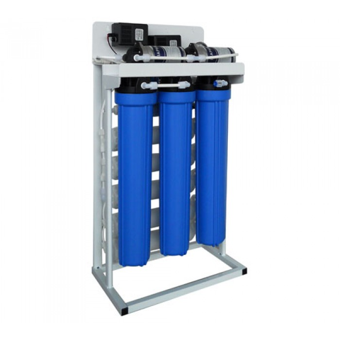RO-400 WP Pompalı Tezgahaltı Ters Ozmoz Sistemi 4 Aşamalı